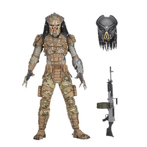 "NECA Predator (2018) - 7"" Scale Action Figure - Emissary 2"