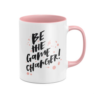 Be The Game Changer Mug - White/Pink