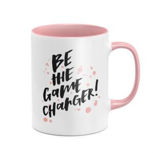 Be The Game Changer Mug - White/Pink