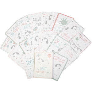 Sass & Belle Set of 16 Evie Unicorn Baby Milestone Cards