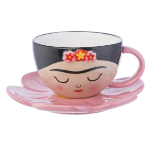 Sass & Belle Viva La Frida Fiesta Cup and FlowerSaucer Set