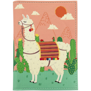 Sass & Belle Lima Llama Passport Holder