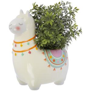 Sass & Belle Lima Llama Planter