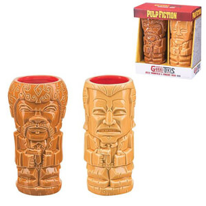 Beeline Creative Pulp Fiction Geeki Tikis Mug 2-Pack Set