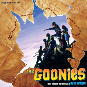 Varese Sarabande Dave Grusin - Goonies (Soundtrack) [2LP] (gatefold, 4 bonus tracks, 4-page booklet)