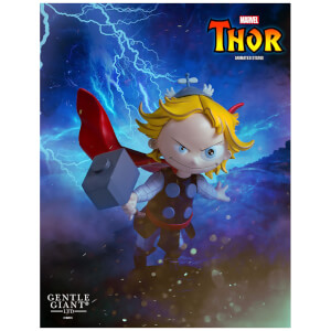 Statuetta animata di Thor, Marvel Comics, Gentle Giant - 12 cm