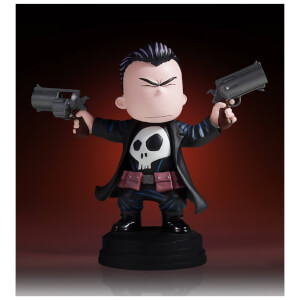Statuetta animata di The Punisher, Marvel Comics, Gentle Giant - 10 cm