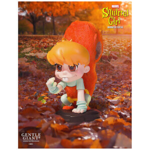 Statuette effet animé Squirrel Girl de Marvel (11 cm) – Gentle Giant