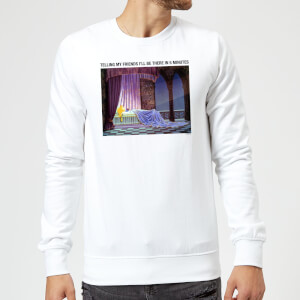 Disney Sleeping Beauty I'll Be There In Five Sweatshirt - White