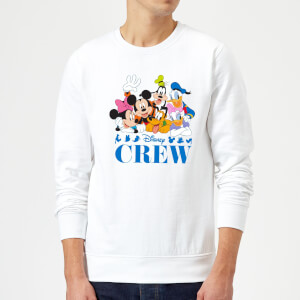 Disney Crew Sweatshirt - White