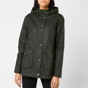 Barbour Women's Marine Wax Coat - Sage