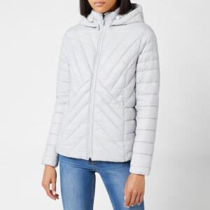 Barbour Women's Rowlock Quilt Coat - Ice White