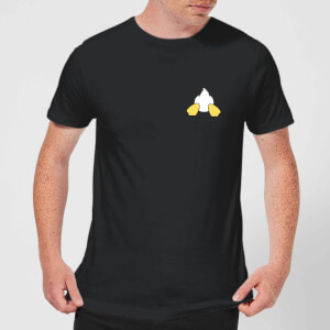 Disney Donald Duck Backside Men's T-Shirt - Black