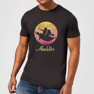 Disney Aladdin Flying Sunset t-shirt - Zwart