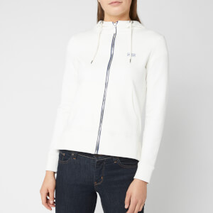 Barbour International Women's Meribel Overlayer - Chalk White