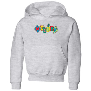 Disney Mickey Fruit Blocks Kids' Hoodie - Grey