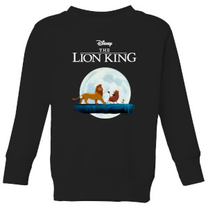 Disney Lion King Hakuna Matata Walk Kinder Sweatshirt - Schwarz