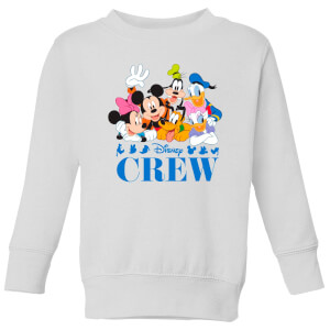 Disney Crew Kids' Sweatshirt - White