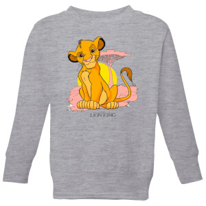 Disney Lion King Simba Pastel Kinder Sweatshirt - Grau