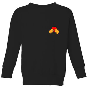Disney Mickey Mouse Backside Kinder Sweatshirt - Schwarz