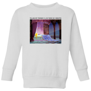 Disney Sleeping Beauty I'll Be There In Five Kids' Sweatshirt - White