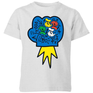 Donald Duck Pop Fist Kids' T-Shirt - Grey