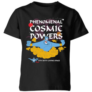Disney Aladdin Phenomenal Cosmic Power Kinder T-Shirt - Schwarz