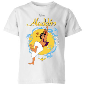 Disney Aladdin Rope Swing Kids' T-Shirt - White