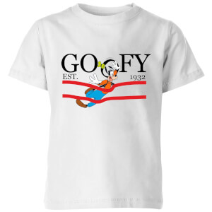 Disney Goofy By Nature Kids' T-Shirt - White
