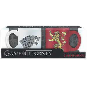 Game of Thrones Espresso Mugs - Set of 2