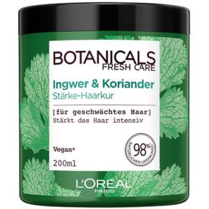 L'Oréal Paris  Botanicals Fresh Care Ingwer & Koriander Stärke-Haarkur Für Geschwächtes Haar