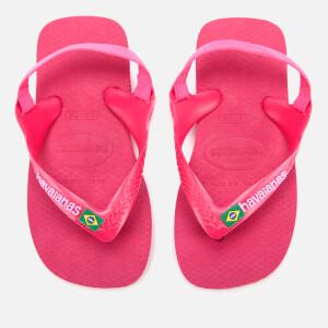 Havaianas Toddler's Brasil Logo Sandals - Tulip