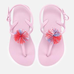 Havaianas Kids' Freedom SL Pompom Sandals - Rose Quartz