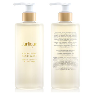 Jurlique Restoring Hand Wash 300ml (Lemon, Gernanium & Clary Sage) - US