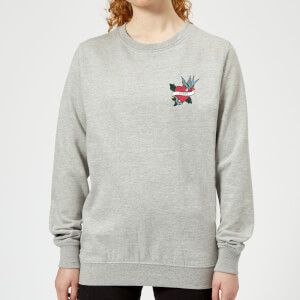 Mom Heart Women's Sweatshirt - Grey