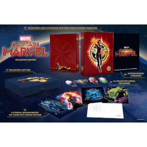 Captain Marvel - 4K Ultra HD (incl. Blu-ray) Zavvi Exclusive Collector's Edition Steelbook