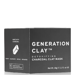 Generation Clay Detoxifying Charcoal Clay Mask