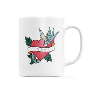 Nan Heart Mug