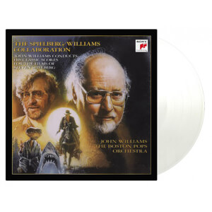John Williams & Steven Spielberg - The Spielberg/Williams Collaboration [2LP] (LIMITED TRANSPARENT 180 Gram Audiophile Vinyl, gatefold, PVC sleeve, numbered to 1500)