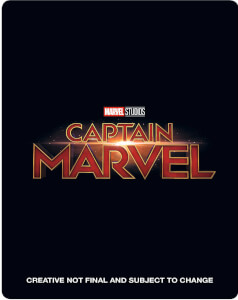 Captain Marvel 4K Ultra HD (Inkl. 2D Blu-ray) - Zavvi UK Exklusives Limited Edition SteelBook