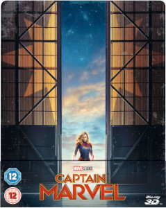Captain Marvel 3D (Inkl. 2D Blu-ray) - Zavvi UK Exklusives Limited Edition SteelBook