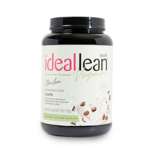 Ideallean Vegan Protein - Mocha - 30 Servings