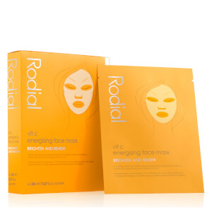 Rodial Vitamin C Cellulose Sheet Mask (4 Pack)