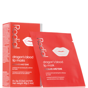 Rodial Dragon's Blood Lip Masks (Pack of 8, Worth $56)