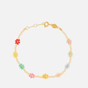 Anni Lu Women's Petals Bracelet - Cornhusk