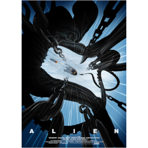 Alien Giclee by Pete Ware - Zavvi Exclusive