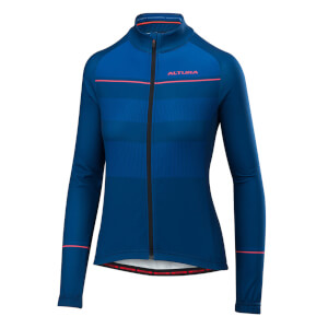 Altura 2018 Women's Airstream Long Sleeve Jersey - Blue