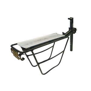Tortec Explorer Rear Aluminium Bicycle Pannier Rack - Black