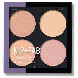 NIP+FAB Make Up Highlight Palette - Glow Out 15.2g