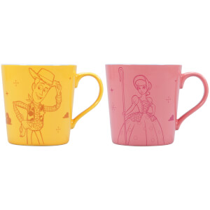 Toy Story Woody & Bo Mugs - Set of 2
